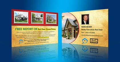 #44 for Design a Real Estate postcard by linokvarghese