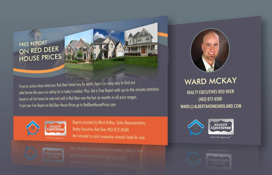 #55 for Design a Real Estate postcard by ryanmahendra