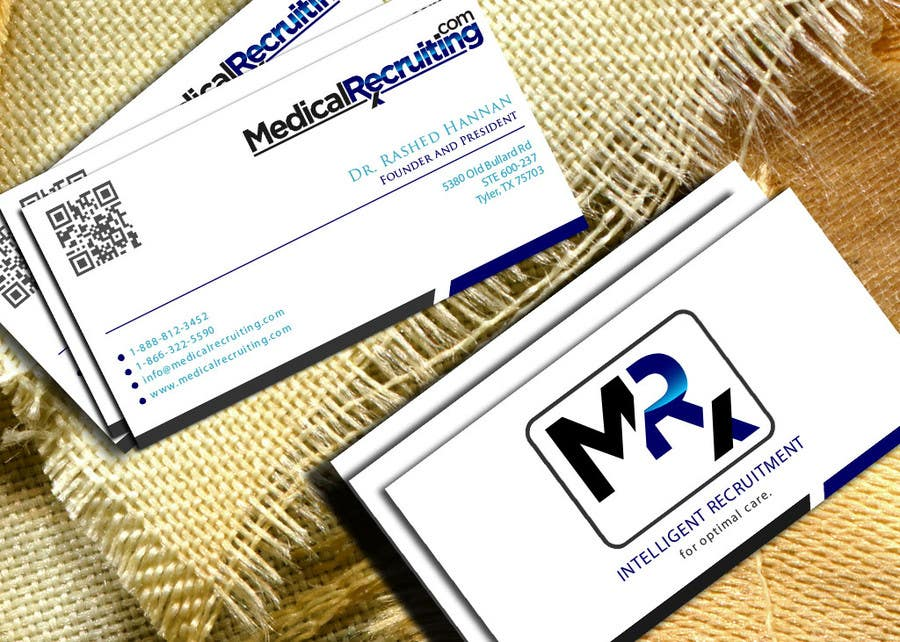 Design some high end Business Cards for Recruiting Company ...