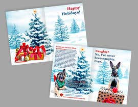 nº 4 pour Design a 5x7 Christmas Card for Southeast German Shepherd Rescue par Spector01