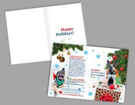 nº 5 pour Design a 5x7 Christmas Card for Southeast German Shepherd Rescue par Spector01