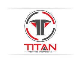 georgeecstazy tarafından Titan Tennis Academy Logo and Branding için no 8