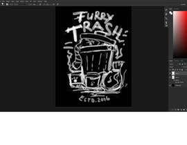 #9 for Design a T-Shirt called Furry Trash by faridhnug
