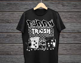 #25 for Design a T-Shirt called Furry Trash by KaimShaw