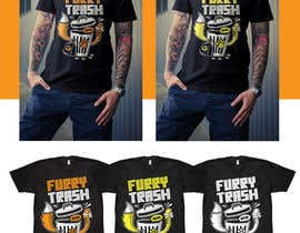 #33 for Design a T-Shirt called Furry Trash by vickysmart