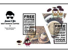Nro 17 kilpailuun Free Coffee and Cupcakes! käyttäjältä adrizing