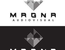 #108 para Design a Logo for MAGNA AUDIOVISUAL de MaikyMike