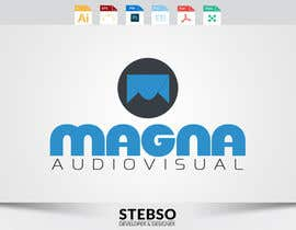 #160 para Design a Logo for MAGNA AUDIOVISUAL de stebso