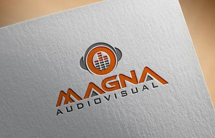 anurag132115 tarafından Design a Logo for MAGNA AUDIOVISUAL için no 93