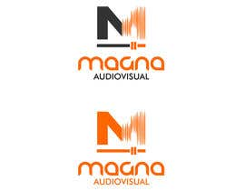 #103 para Design a Logo for MAGNA AUDIOVISUAL de EstrategiaDesign