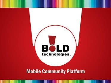 #14 for Design a Brochure for BOLD! Mobile Community Platform by linokvarghese