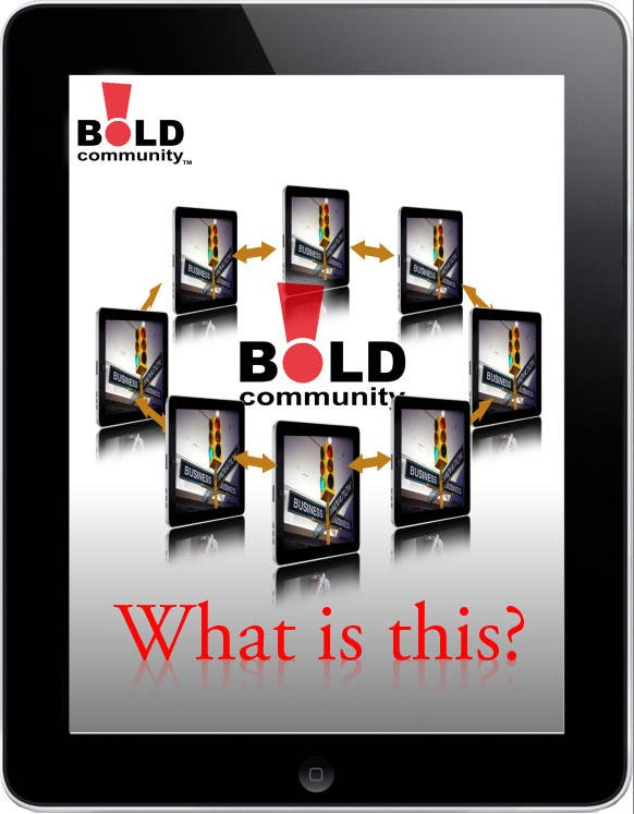 #30 for Design a Brochure for BOLD! Mobile Community Platform by Kusmin