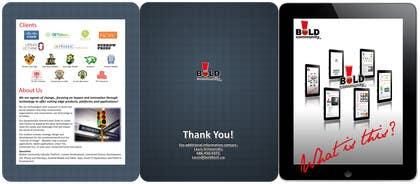#36 for Design a Brochure for BOLD! Mobile Community Platform by Kusmin