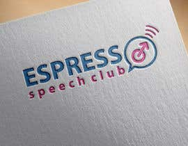 "venky9291 tarafından Logo for a speaking club named ""Espresso Speech Club"" için no 1"