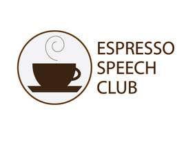 "tntlazar902 tarafından Logo for a speaking club named ""Espresso Speech Club"" için no 9"