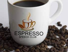 "graphicrivers tarafından Logo for a speaking club named ""Espresso Speech Club"" için no 20"