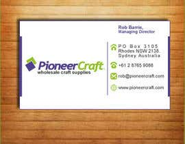 #115 for Business Card Design af silverpendesigns