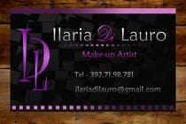 Graphic Design Конкурсная работа №125 для Business Card Design for Ilaria Di Lauro - Make-up artist