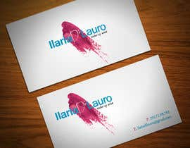 nº 94 pour Business Card Design for Ilaria Di Lauro - Make-up artist par StrujacAlexandru