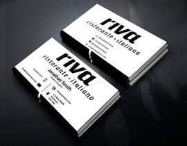 Nro 6 kilpailuun Design a restaurant business card käyttäjältä sanjoypl15
