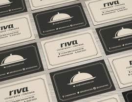 Nro 4 kilpailuun Design a restaurant business card käyttäjältä erkanmetehan93