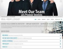 Nro 64 kilpailuun High-end Dental Homepage käyttäjältä seguro