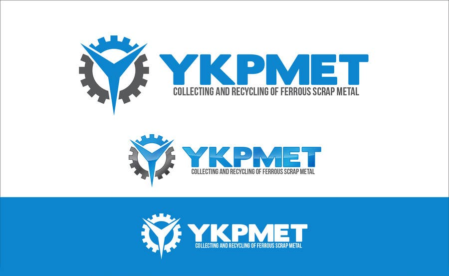 #628 for Redesign a Logo for the steel company UkrMet by taganherbord
