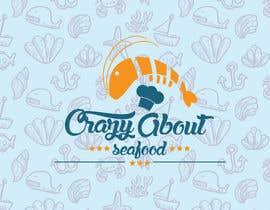 BhavinJadav tarafından logo for my   CrazyAboutSeafood.com için no 5