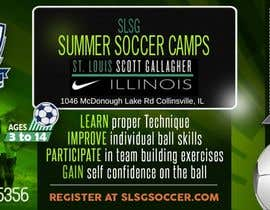 Nro 16 kilpailuun Design an Advertisement for soccer camp käyttäjältä wood74