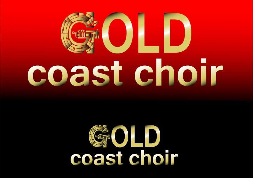 Kilpailutyö #437 kilpailussa Logo Design for Gold Coast Choir