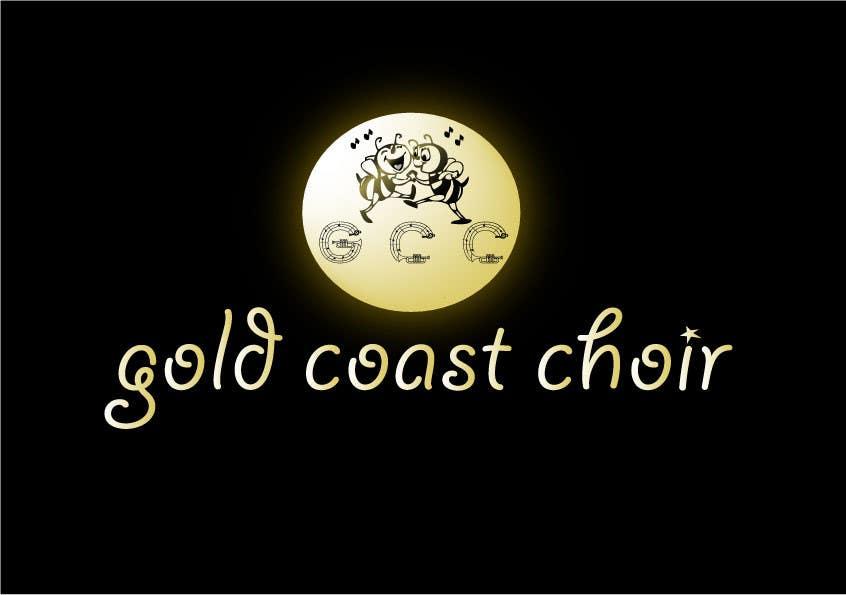 Kilpailutyö #423 kilpailussa Logo Design for Gold Coast Choir