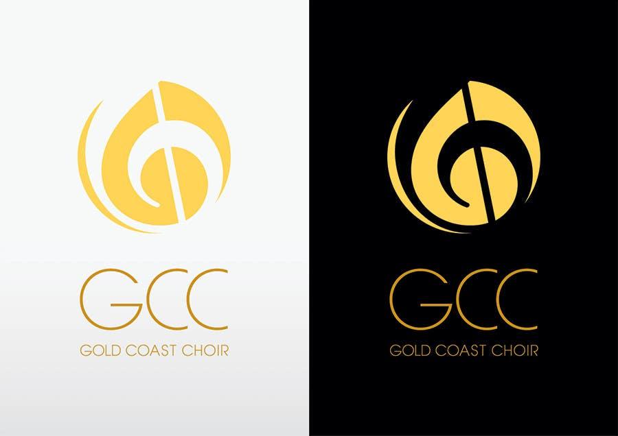 Kilpailutyö #428 kilpailussa Logo Design for Gold Coast Choir