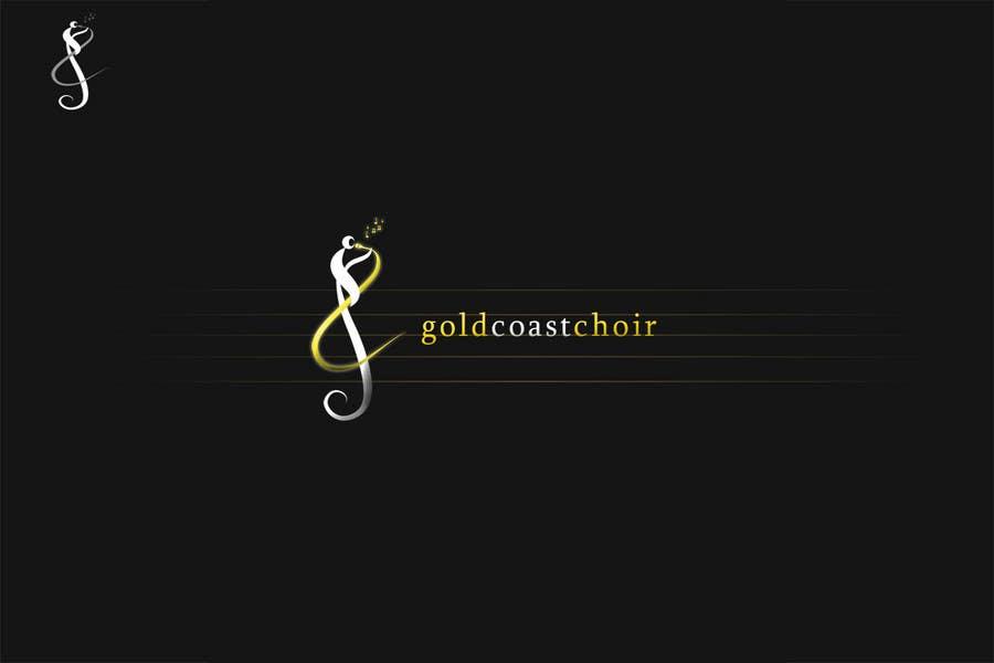 Kilpailutyö #388 kilpailussa Logo Design for Gold Coast Choir
