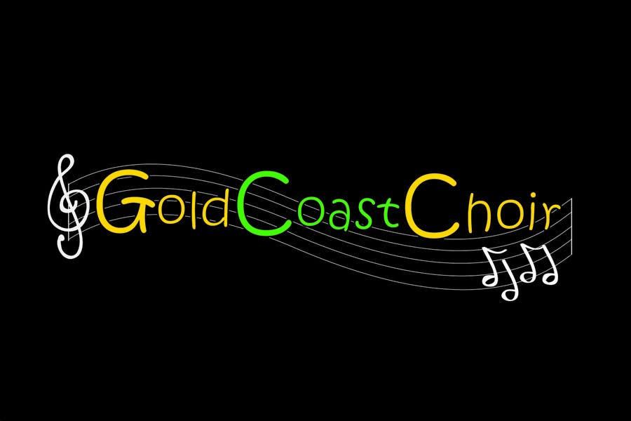 Kilpailutyö #350 kilpailussa Logo Design for Gold Coast Choir