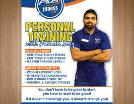 Nro 10 kilpailuun A4 poster - personal trainer profile käyttäjältä teAmGrafic