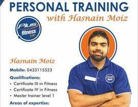 Nro 5 kilpailuun A4 poster - personal trainer profile käyttäjältä swarajmgraphics