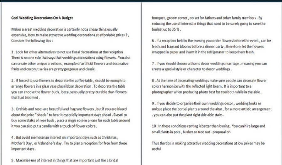#32 for Write Articles for reputable US blogs by evanuril