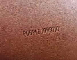 """shashikantsul tarafından Design a logo for a leather brand """"Purple Martin"""" için no 29"""