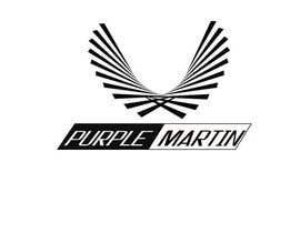 "olalaolan tarafından Design a logo for a leather brand ""Purple Martin"" için no 32"
