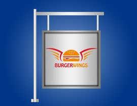 Nro 17 kilpailuun Design a burger restaurant store sign käyttäjältä veron0711
