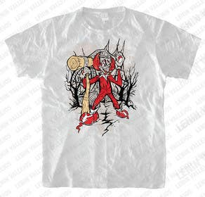 #17 for Design a t-shirt with a clown illustration - cartoon by leninvallejos