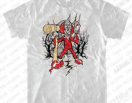 #17 untuk Design a t-shirt with a clown illustration - cartoon oleh leninvallejos