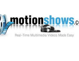 #57 for Need a Creative, Modern, Simplistic logo designed for the Launch of Motionshows.com by burgerdesign1