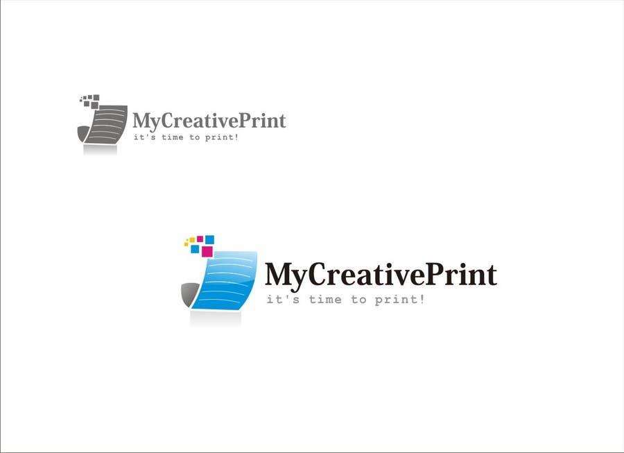 Contest Entry #92 for Logo Design for mycreativeprint.com