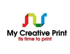 #156 για Logo Design for mycreativeprint.com από Naveedkha