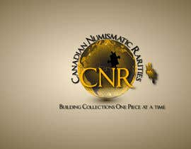 #37 para Design a Logo for Canadian Numismatic Rarities (CNR) por manuel0827