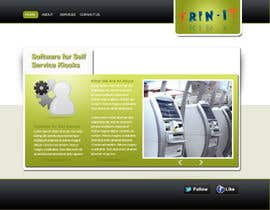 #20 untuk Website Design for Trin-iT Software Solutions oleh Kristiemckeon