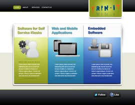 nº 6 pour Website Design for Trin-iT Software Solutions par Kristiemckeon