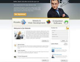 nº 36 pour Website Design for Trin-iT Software Solutions par monikjee