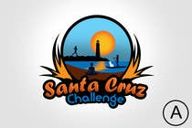 Contest Entry #94 for Illustration Surfer Sunset Santa Cruz Dog LOGO contest